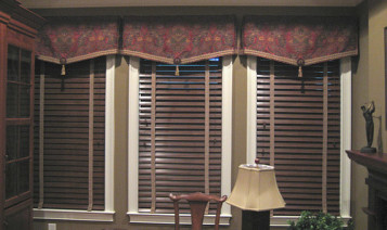 Window Blinds And Valance