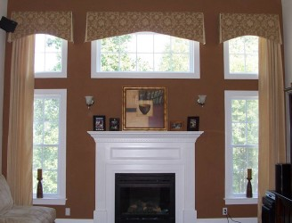 Download Wallpaper Window Treatments For Bay Windows 1318x1003 Shade ...