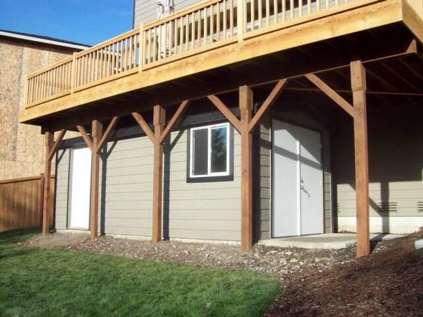Wood Storage Shed Spotlats