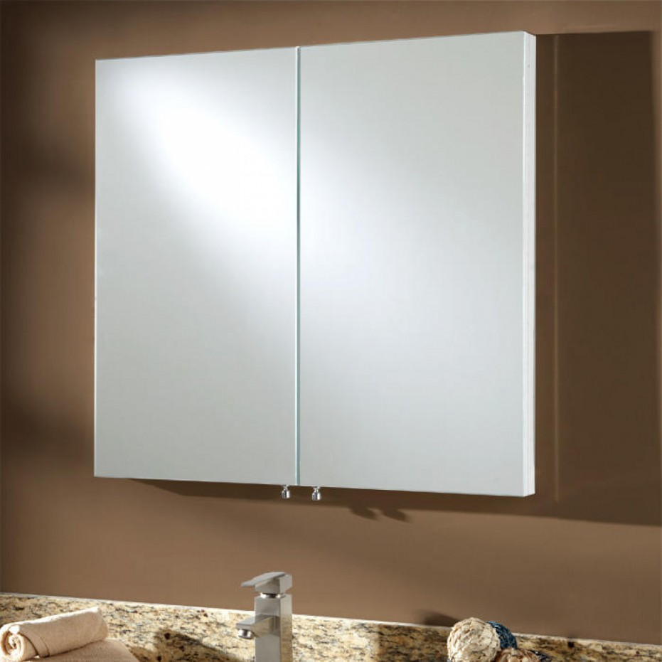 Albright Stainless Steel Recessed Medicine Cabinet