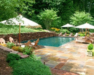 Backyard Garden Small Backyard Pool Ideas