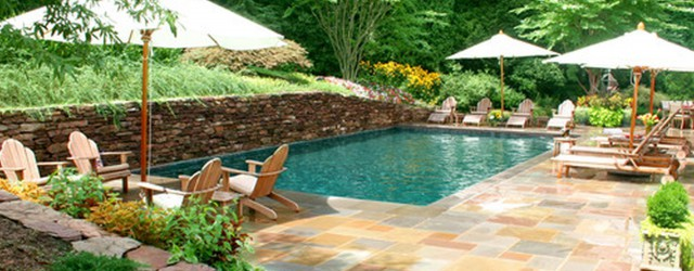Backyard Garden Small Pool Ideas