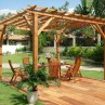 750x562px How To Choose Modern Bois Pergola Picture in landscape
