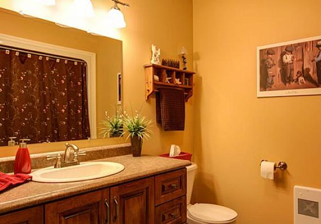Best Paint Color For Small Bathroom