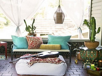 Bohemian Furniture Ideas For Deck Picture Collection
