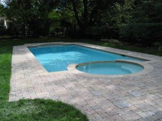 Charming Inground Pools Custom Designed  Collection
