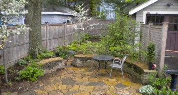 Charming  Small Backyard Garden