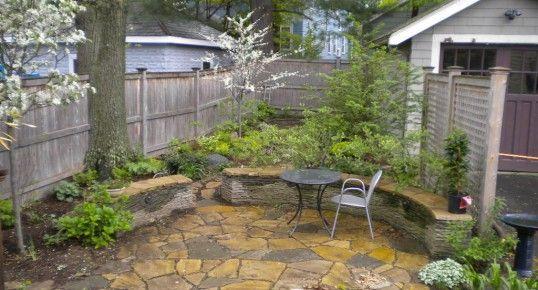 Charming  Small Backyard Garden