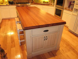 Custom Butcher Block Island Design Ideas
