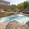 Deluxe Small Inground Pools For Small Yards Design Ideas