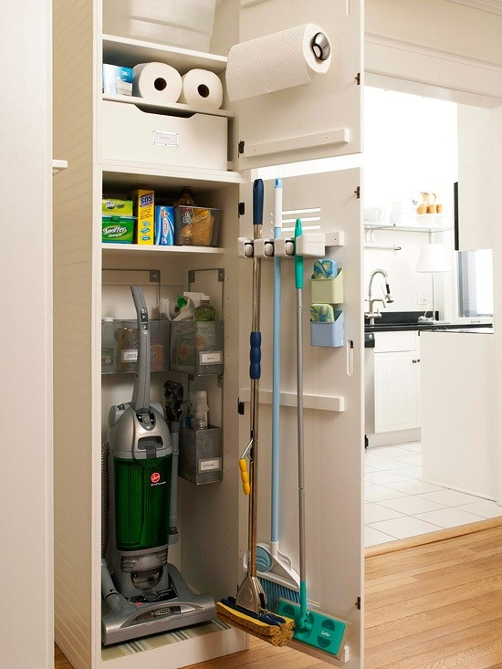 Fabulous Cleaning/Broom Closets