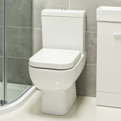 How To Position Compact Toilet For Small Bathroom