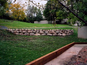 Fabulous  Building A Retaining Wall Product Picture