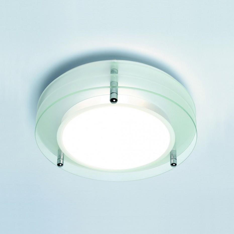 Glass Bathroom Ceiling Light  Photo Gallery