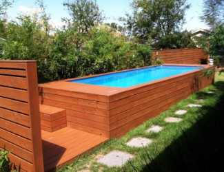 Gorgeous Above Ground Pool Decks