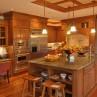 Gorgeous  oak wood cabinets product Image