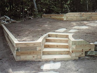 Landscape Timbers Retaining Wall Collection