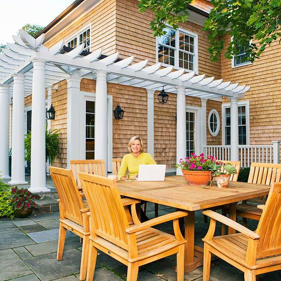 Lovely Build A Pergola Collection