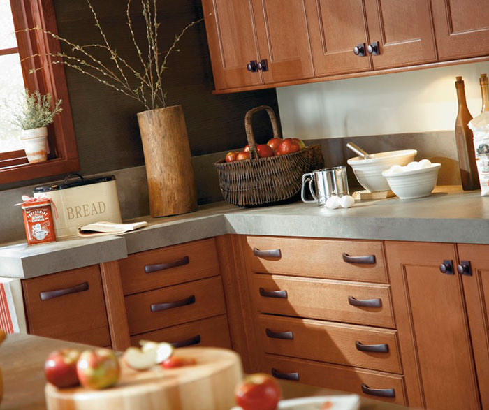 Lovely  Oak Cabinets  Product Ideas