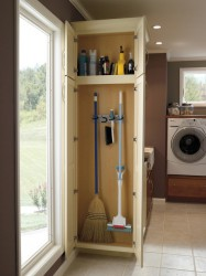 Ideas To Organize Broom Closet