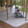 Paver Patio Designs Under Deck  Photo Gallery