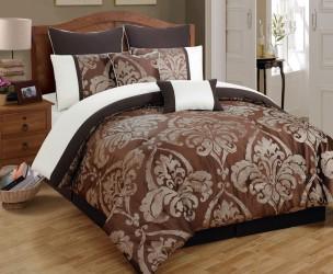 Piece King Chateau Marquis Jacquard Comforter Set