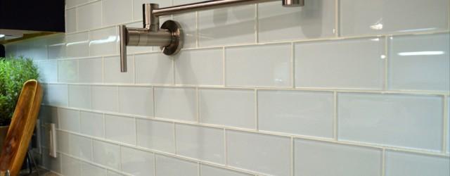 Popular White Glass Subway Tile
