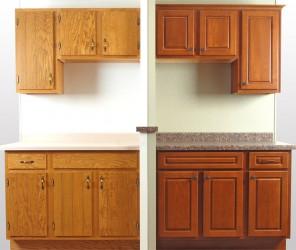 Pretty  Kitchen Cabinet Refacing