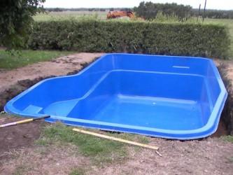 Small Fiberglass Swimming Pools Inground Design Ideas