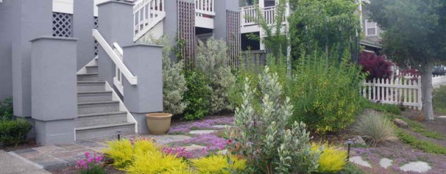 Small Front Yard Landscape Ideas with grey wall  Product Ideas