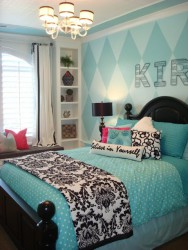 Tiffany Blue Teen Girls Bedrooms