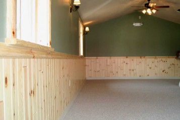 Wainscoting Basement Design