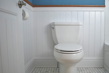Wainscoting Panel Bathroom Westerly