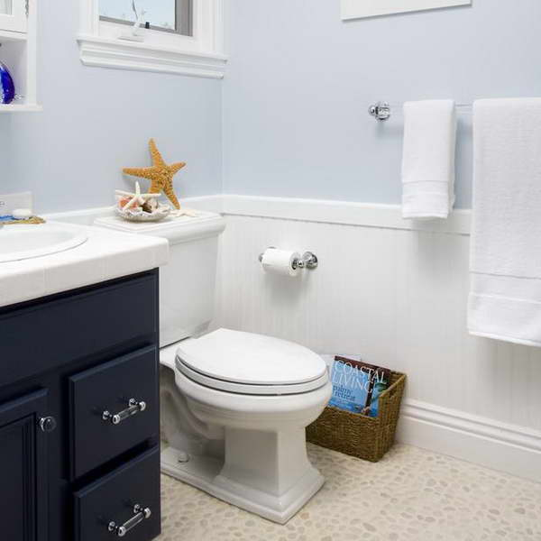 Outstanding Wainscoting Ideas For Small Bathrooms Pictures Design  Inspiration