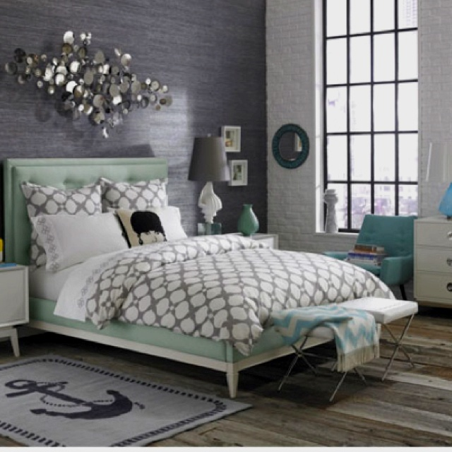 Wonderful Tiffany Blue Bedroom
