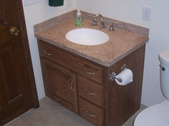 Bathroom Vanities With Linen Cabinet