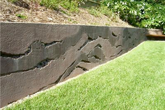 Building A Retaining Wall Photo Collection