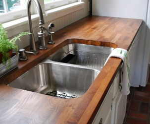 Butcher Block Cabinets