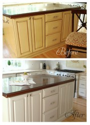 Can You Paint Laminate Cabinets