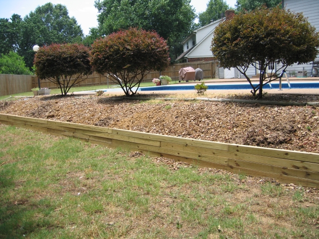 Cheap Retaining Wall Ideas Spotlats