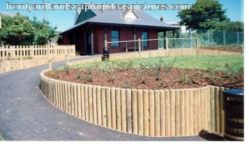 Landscape Timbers Retaining Wall Product Ideas