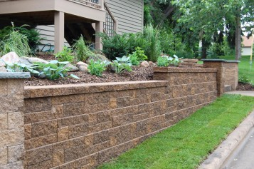 Landscaping Timber Retaining Wall Product Image