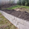 500x375px How To Build Inexpensive Retaining Walls Picture in landscape